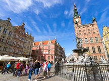 Gdanks Poland Stock Photo