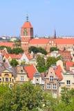 gdansk город старый Стоковые Изображения RF