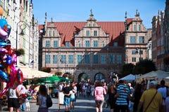 gdansk Польша Стоковая Фотография