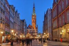 gdansk Польша Стоковые Фотографии RF