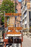 gdansk янтарные ювелирные изделия Стоковое Фото