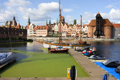 gdansk Royaltyfria Bilder