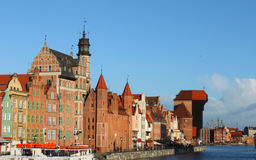 Gdansk. The city of Gdansk in Poland Royalty Free Stock Images