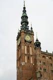 Gdansk-26. Gdansk, old city,town hall Stock Photography