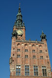 Gdansk-26. Gdansk, old city,town hall Royalty Free Stock Photos
