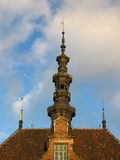 Gdansk. Tower, historical building, Gdansk, Poland, old town hall royalty free stock photos