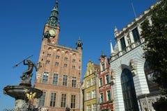 Gdansk-27. Gdansk, old city.tower.neptune Stock Images