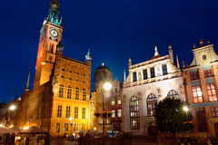 Gdansk-36. Gdansk,old city,town hall Royalty Free Stock Image