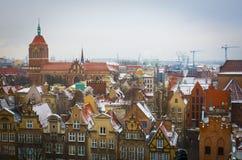 gdansk obrazy royalty free