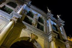 строб gdansk золотистый Стоковая Фотография RF