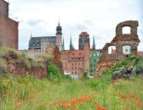Gdansk-alte Stadt Stockbild