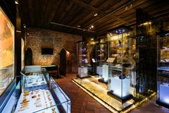 Gdansk Amber Museum Fotografering för Bildbyråer