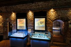 Gdansk Amber Museum Royaltyfria Foton