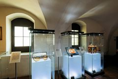 Gdansk Amber Museum Royaltyfria Bilder