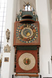 Gdansk Astronomical Clock Royalty Free Stock Images