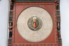 Gdansk astronomisk klocka Royaltyfri Fotografi