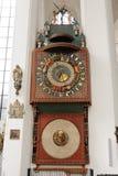 Gdansk astronomisk klocka Royaltyfria Bilder