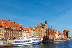 Gdansk. Central embankment. Stock Photo