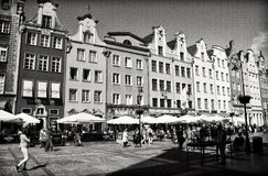 Gdansk city centre Stock Photography