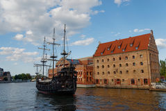 Gdansk city editorial Stock Photos