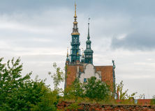 Gdansk. City Hall. Bell tower on the tower of the medieval town hall. Gdansk. Poland Stock Photo
