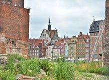Gdansk city Royalty Free Stock Photography