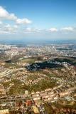 Gdansk City Panorama View stock image