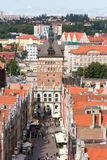 Gdansk city Poland Stock Images