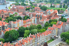 Gdansk city view Royalty Free Stock Image