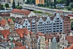 Gdansk city view Stock Photo