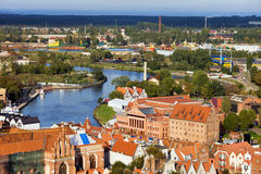 Gdansk Cityscape Royalty Free Stock Photos