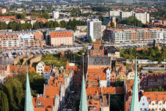 Gdansk Cityscape Stock Photography