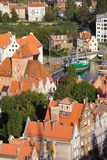 Gdansk Cityscape Stock Photos