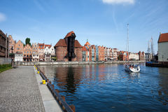 Gdansk Cityscape Royalty Free Stock Photography