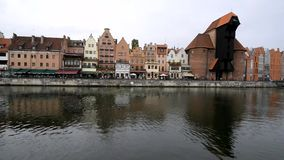 Gdansk stock video footage