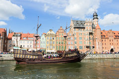 Gdansk cruise Stock Photos