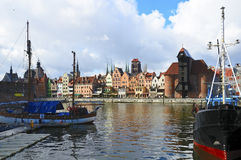 Gdansk (Danzig) in Polen Stockfotos