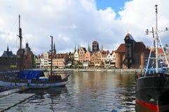 Gdansk (danzig) in Polen Stock Foto's
