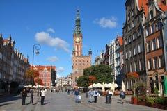 Gdansk - Dlugi Targ Royalty Free Stock Image