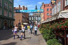 Gdansk durante el campeonato euro 2012 Fotos de archivo libres de regalías