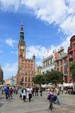 Gdansk durante o euro- campeonato 2012 imagem de stock royalty free