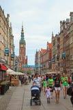 Gdansk durante o euro- campeonato 2012 Imagens de Stock Royalty Free
