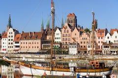 Gdansk em Poland Fotos de Stock