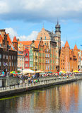 Gdansk embankment Stock Images