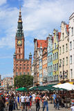 Gdansk during the Euro 2012 Championship Stock Photo