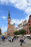 Gdansk during the Euro 2012 Championship Royalty Free Stock Image