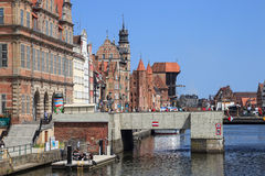 Gdansk during the Euro 2012 Championship Royalty Free Stock Photography