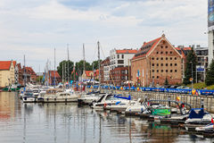 Gdansk during the Euro 2012 Championship Royalty Free Stock Photos