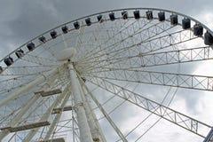 Gdansk ferris wheel Stock Photography