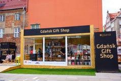 Gdansk gift shop Royalty Free Stock Images